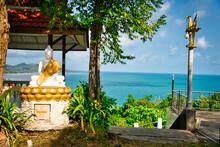 Wat Phra Chedi Laem So Bang Kao Bay, Koh Samui, Thailand