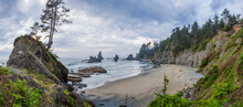 Shi Shi Beach, Olympic National Park, USA