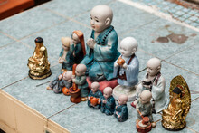 Little Buddha Miniature Statues