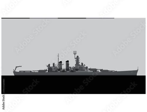Fotografering USS NORTH CAROLINA 1941