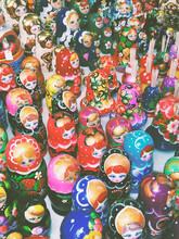 Russian Matryoshka Dolls.