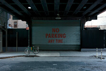 No Parking Any Time Sign In New York City