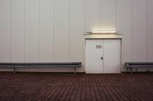 Emergency Exit Backdoor, Industrial Building