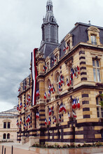 The City Hall Of Roanne