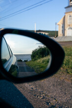 Ocean In The Sideview Mirror