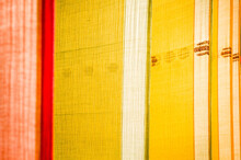 Colorful Saris Drying