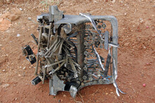 Abandoned Typewriter
