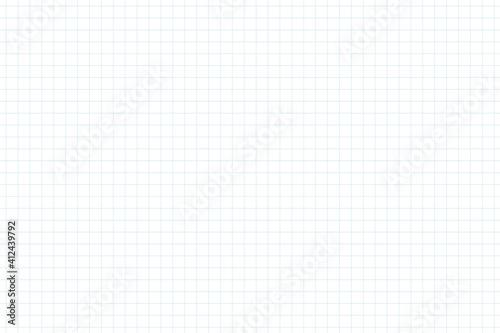 Obraz 方眼紙のような薄い水色のグリッド入りのシンプルな背景素材・細線 シームレスパターン - fototapety do salonu