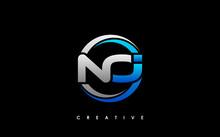 NOI Letter Initial Logo Design Template Vector Illustration