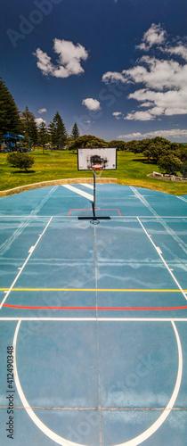 Photographie South beach basketball court!