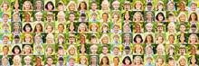 Panorama Kinder Portrait Collage