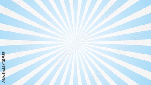 Obraz popular white and blue ray starburst sunburst pattern sky cloud background television vintage 16:9 1920 x 1080 for youtube mobile phone - fototapety do salonu