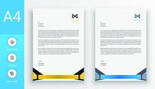 Simplistic Letterhead Template