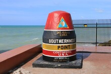Key West, Florida, United States. Southernmost Point Of U.S.A. Continental. 90 Miles To Cuba.