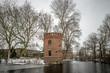 Leinwandbild Motiv Winter im Ruhrgebiet