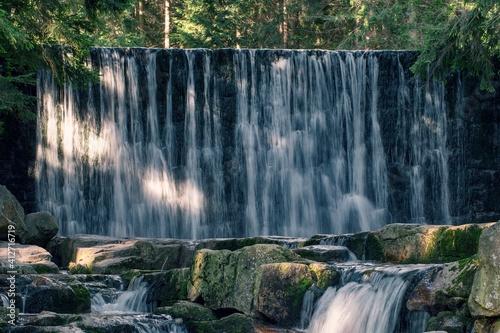 Dziki Wodospad W Karpaczu - fototapety na wymiar