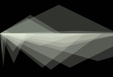 Black And White Flickering Pattern