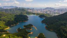 Jubilee (Shing Mun) Reservoir Is A Reservoir In Hong Kong. It Is Located In Shing Mun, The Area Between Tsuen Wan And Sha Tin, In The New Territories.