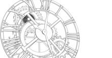 Clock Graphic Symbol 3d Illustration