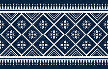 Geometric Ethnic Oriental Ikat Pattern Traditional Design For Background,carpet,wallpaper,clothing,wrapping,fabric,Vector Illustration.