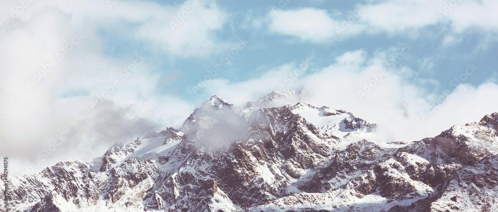 Fototapeta New Zealand mountains