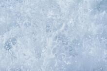 Foam Of The Sea Surf Close-up