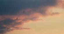 Vanilla Sky Warm Sunset Clouds View