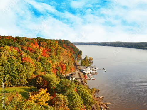 Fototapety, obrazy: Scenic View Of Sea Against Sky During Autumn
