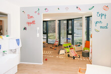 Empty Space Of Infant Day Care Or Kindergarten