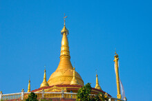 Golden Temple, The Largest Theravada Buddhist Temple In Bangladesh And Has The Country's Second Largest Buddha Statue, Bandarban, Chittagong Division, Bangladesh