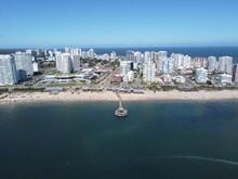 City Skyline Of Punta Del Este