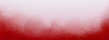 White And Red Gradient Background With Soft Hazy Foggy White Border And Darker Red And Pink Grunge Texture Design