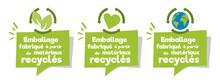 Emballage Fabriqué à Partir De Matériaux Recyclés