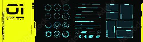 Foto Set of VR elements