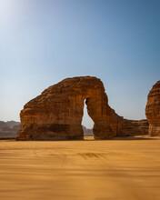 Elephant Rock From  Al Ula Saudi Arabia