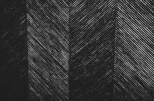 Distressed Overlay Wicker Vine Texture. Grunge Black And White Background.