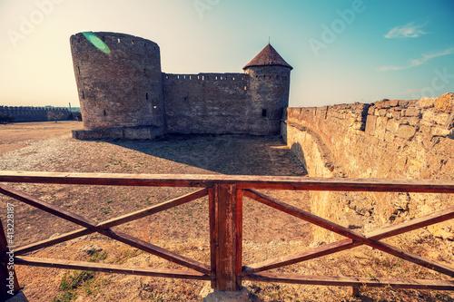 Fotografie, Obraz The ancient Akkerman fortress in the city of Belgorod-Dnestrovsky in the Odessa region