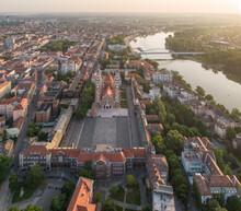 Catholic Cathedral In Szeged