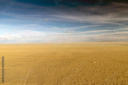 Fotografie, Obraz Lake dried because of the global warming. Seyfe Lake, in Turkey.
