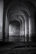 Noir Et Blanc HDR Monuments De Ville