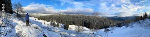 Winterpanorama im Thüringer Wald © Henry Czauderna