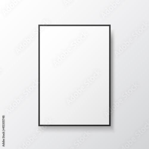 Leinwand Poster Poster mockup frame