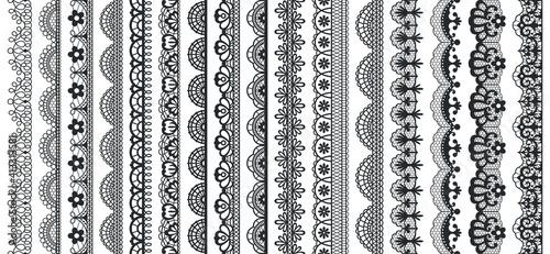 Fotografie, Obraz Lace pattern elements