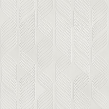 Embossed Motif Pattern On Paper Background, Seamless Texture, Waves Pattern, 3d Illustration
