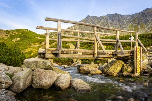 Fototapeta Dolina Pięciu Stawów Polskich - The Valley of the Five Polish Ponds. Tatra Mountains, Poland obraz