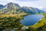 Dolina Pięciu Stawów Polskich - The Valley of the Five Polish Ponds. Tatra Mountains, Poland