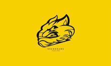 Minimal Beast Logo. Creative Beast Vector