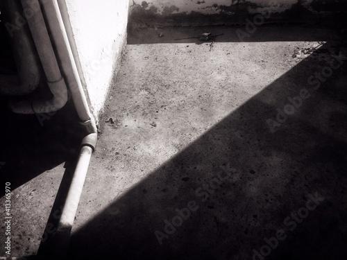 Fotografering Sunlight Falling On Floor