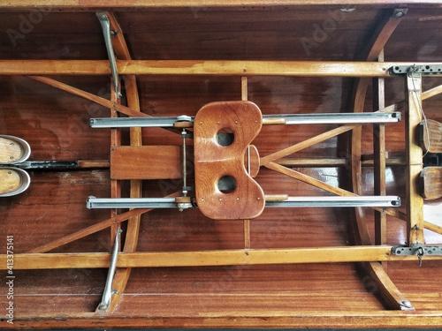 Fototapeta Full Frame Shot Of Rowboat