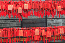 Prayer Tags, Foshan Ancestral Temple, Foshan, Near Guangzhou China